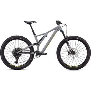 Specialized Stumpjumper Comp Alloy 27.5 2019, gray/yellow - Mountainbike