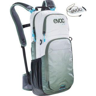 Evoc CC 16l + Hydration Bladder 2l, white olive - Fahrradrucksack