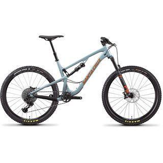 Santa Cruz 5010 AL S 2020, robins egg/orange - Mountainbike
