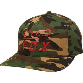 Fox Furnace Flexfit Hat, green camo - Cap