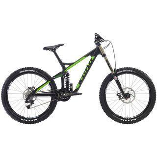 Kona Operator 2014, matt carbon/fluoro green/matt black stays - Mountainbike