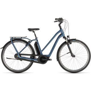 Cube Town Hybrid EXC 500 Trapeze 2019, blue´n´blue - E-Bike