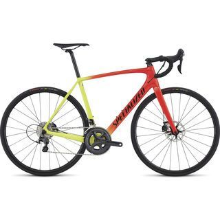 Specialized Tarmac Comp Disc 2017, red/yellow/black - Rennrad
