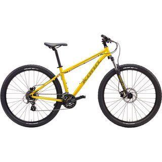 Kona Lava Dome 2017, yellow/mustard - Mountainbike