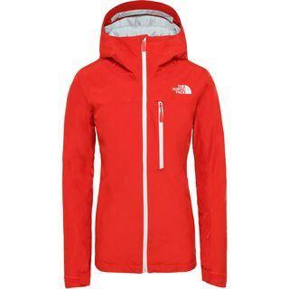 The North Face Womens Descendit Jacket, fiery red - Skijacke