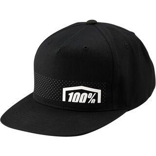 100% Nemesis Snapback Hat, black - Cap