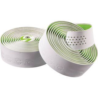 Cannondale Microfiber Plus Premium, white green - Lenkerband