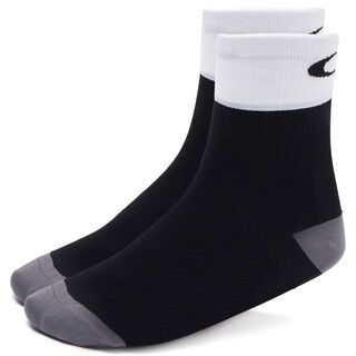 Oakley Cycling Regular Sock, blackout - Radsocken