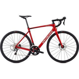 Specialized Roubaix Hydro 2019, candy red/black/silver - Rennrad