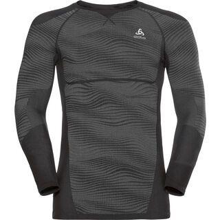 Odlo SUW Top Performance Blackcomb Crew Neck L/S, black-silver - Unterhemd