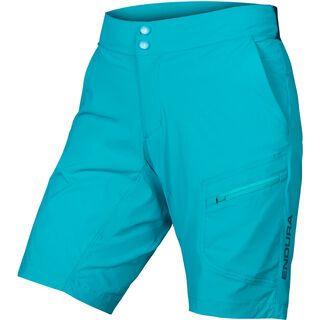 Endura Wms Hummvee Lite Short with Liner, pazifik blau - Radhose
