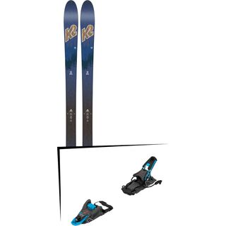 Set: K2 SKI Wayback 82 ECOre 2018 + Salomon S/Lab Shift MNC blue/black