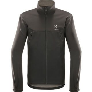 Haglöfs Gecko Jacket Men, true black - Softshelljacke