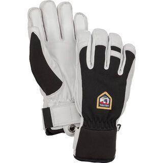 Hestra Army Leather Patrol 5 Finger, schwarz - Skihandschuhe