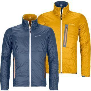 Ortovox Swisswool Light Piz Boval Jacket M, night blue - Thermojacke