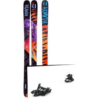 Set: Armada Arv 96 2019 + Marker Alpinist 9 black/titanium