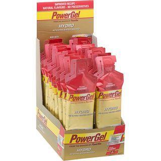 PowerBar PowerGel Hydro - Cherry (mit Koffein) (Box) - Energie Gel