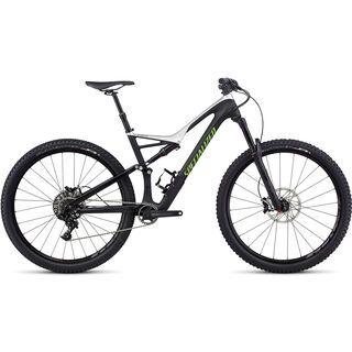 Specialized Stumpjumper FSR Comp Carbon 29 2017, black/silver/mo green - Mountainbike
