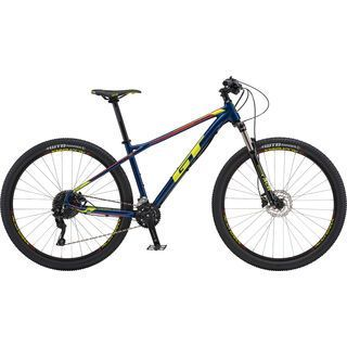 GT Avalanche Elite 27.5 2018, navy/yellow/red - Mountainbike