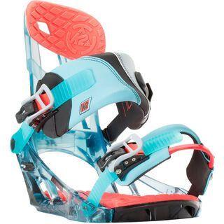 K2 Hurrithane 2016, shark - Snowboardbindung