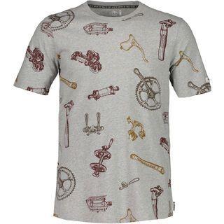 Maloja FlavioM., grey melange - T-Shirt
