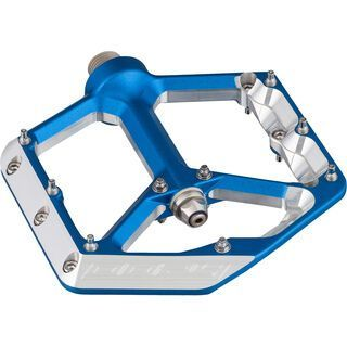 Spank Oozy Trail Pedals, blue