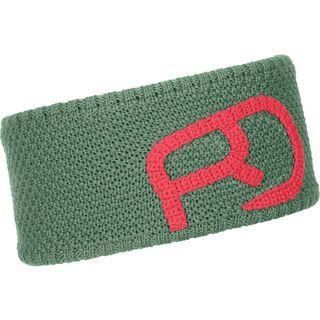 Ortovox Merino Rock'n'Wool Headband W green isar
