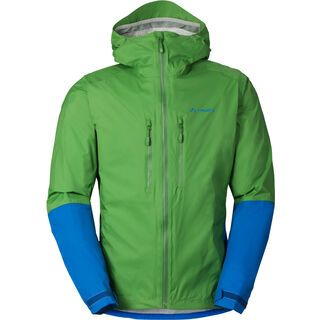Vaude Mens Tremalzo Rain Jacket II, parrot green - Radjacke