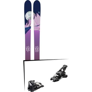 Set: Icelantic Oracle 100 2018 + Tyrolia Attack² 14 AT solid black