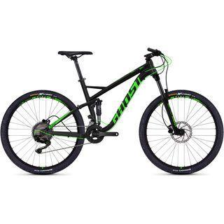 Ghost Kato FS 2.7 AL 2018, black/neon green - Mountainbike