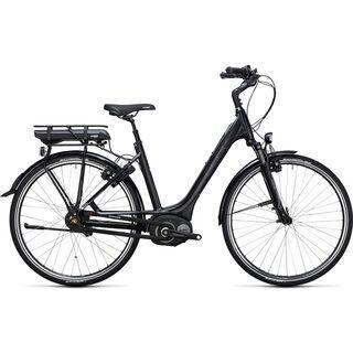 Cube Travel Hybrid RT 400 Easy Entry 2017, black´n´white - E-Bike