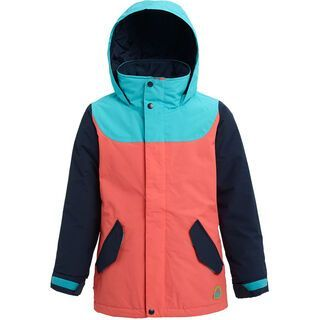 Burton Girls' Elodie Jacket, curacao/blue/peach - Snowboardjacke
