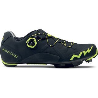 Northwave Ghost XCM, black/yellow fluo - Radschuhe