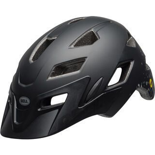 Bell Sidetrack Youth MIPS, black/silver - Fahrradhelm