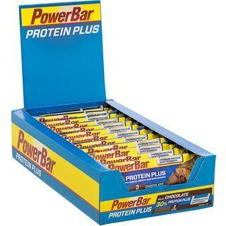 PowerBar Protein Plus 30% - Chocolate (Box) - Proteinriegel