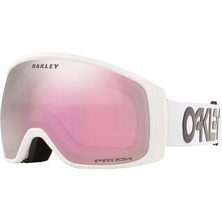 Oakley Flight Tracker XM Prizm Factory Pilot, white/Lens: hi pink iridium - Skibrille