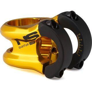 NS Bikes Quantum Small Stem, black/gold - Vorbau
