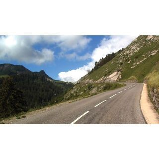 Tacx Real Life Video - Climbs Collection 2 (Alpine Classic, Frankreich) - DVD