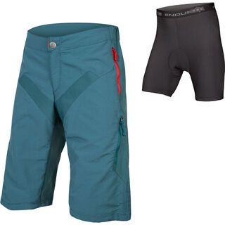 Endura SingleTrack Short with Liner, petrol - Radhose