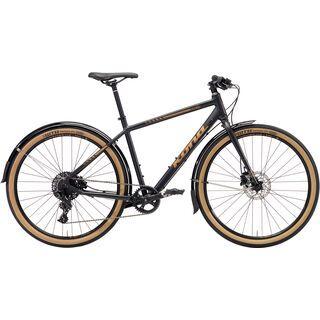 Kona Dr Dew 2018, black/copper - Urbanbike