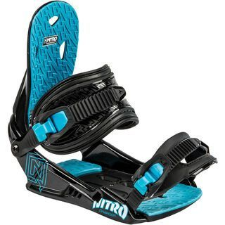 Nitro Charger 2015, black - Snowboardbindung