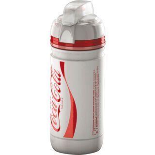 Elite Corsa, Coca Cola/weiß - Trinkflasche