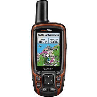 *** 2. Wahl *** Garmin GPSMap 64 s (Bundle mit Topo Deutschland V6 Pro) - GPS-Gerät  