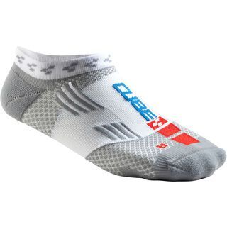 Cube Socke Air Cut Teamline white´n´grey