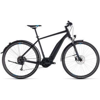 Cube *** 2. Wahl *** Cross Hybrid ONE Allroad 500 2018   Größe 62 cm, black´n´blue - E-Bike