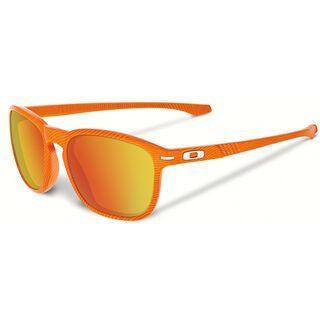Oakley Enduro Fingerprint, atomic orange/Lens: fire iridium - Sonnenbrille