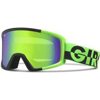 Giro Blok, bright green 50/50/loden green - Skibrille