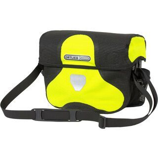 Ortlieb Ultimate Six High Visibility - ohne Halterung neon yellow-black reflective