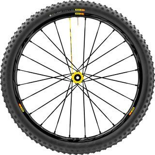 Mavic Deemax Pro 27.5 Boost, black/yellow - Vorderrad