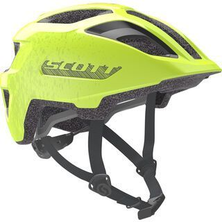 Scott Spunto Junior Helmet, yellow fluorescent - Fahrradhelm